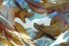 Naruto & Kyuubi vs. Menma & Alternate Reality Kyuubi #RoadToNinja