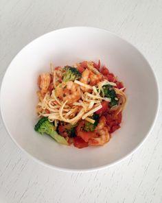 Pupunha spaghetti