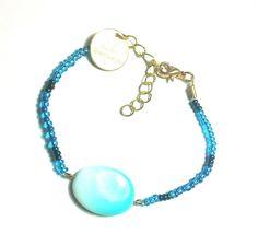 DW Boho Jewels bracelets curaçao blue door DWBohoJewels op Etsy