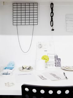 Jewellery, objects and sketches by Elise Sheehan. Photo – Annette O'Brien for The Design Files.