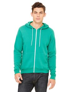 It's hard to argue that this Bella+Canvas Poly-Cotton Fleece Hoodie doesn't look good. Take your pick of 11 colours!