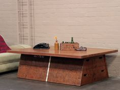 Upcycled Vintage Vaulting Horse Table Thumbnail