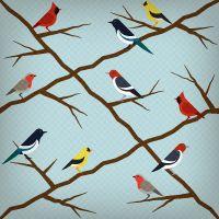 How to Create a Seamless Bird Pattern with Retro Touch in Illustrator (via vector.tutsplus.com)