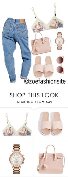 """""""Untitled #166"""" by zoefashionsite on Polyvore featuring 3.1 Phillip Lim, Michael Kors, Yves Saint Laurent and WithChic"""