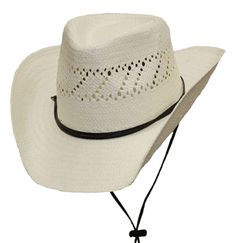 41184166 Natural Color Straw Cowboy Hat - KIDS Hat Shop, Kids Cowboy Hats, Natural,