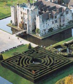 England Travel Inspiration - Hever Castle, Kent, family home of Anne Boleyn.