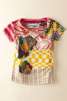 Desigual top for Eve!  Asian and Latin at the same time?