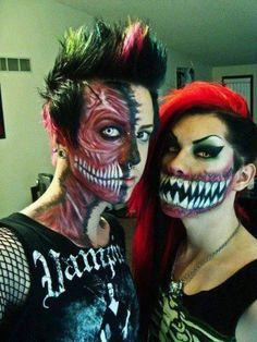 halloween!!! so ima be like monster Waldo for Halloween with this makeup woo