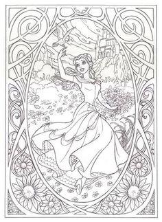 FREE Printable Disney Coloring Pages {Princess, Fairies, Pirates + ...