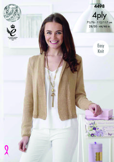 Womens Knitted Cardigan - King Cole