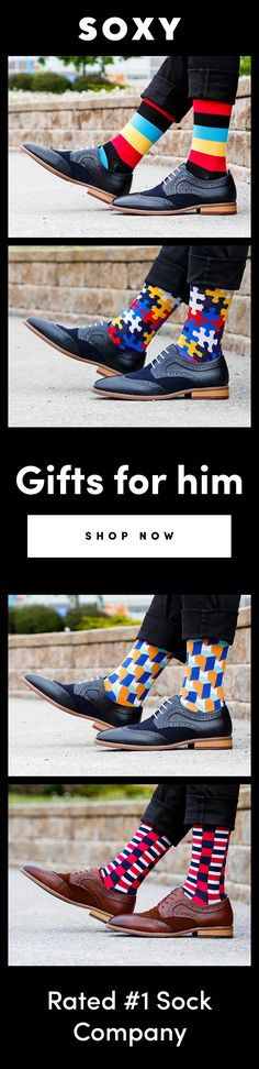 We design crazy socks for men and women. New cool socks launching every month. Designed to be the best socks you've ever worn. High quality funny socks designed to get compliments. Gifts For Boss, Gifts For Him, Fun Gifts, Sock Company, Collor, Designer Socks, My Guy, Couple Gifts, Editorial Fashion