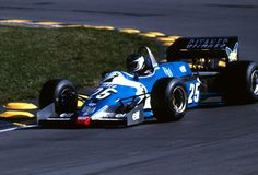 Jean-Pierre Jarier. - 1983 - European GP Brands Hatch - Equipe Ligier Gitanes - Ligier JS21