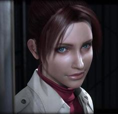 "Claire Redfield, from ""Resident Evil: Degeneration"" (2008)."