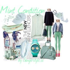 Mint Condition, created by gingerstyle on Polyvore Conditioner, Mint, Polyvore, Image, Fashion, Moda, Fashion Styles, Fashion Illustrations, Peppermint