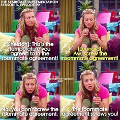 Episode where Leonard tells Penny how the elevator broke and how he met Sheldon! (Episode: The Staircase Implementation) Big Bang Memes, Big Bang Theory Funny, Big Bang Theory Quotes, Tv Quotes, Movie Quotes, Stupid Funny, Hilarious, The Bigbang Theory, Great Tv Shows