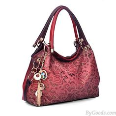 Vintage Hollow Auspicious Printed Clouds Carving Handbag  only $34.99 in ByGoods.com!