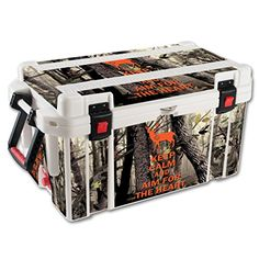 MightySkins Protective Vinyl Skin Decal for Pelican 65 qt Cooler wrap cover sticker skins Deer Hunter *** You can find more details by visiting the image link.(This is an Amazon affiliate link)