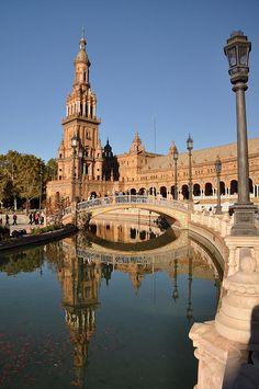 Seville, , Plaza de Espana,Spain