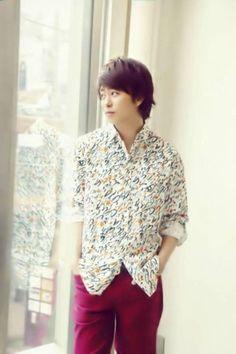 Sakurai Sho 櫻井 翔 Ruffle Blouse, Shirt Dress, Boys, Mens Tops, Shirts, Women, People, Fashion, Baby Boys