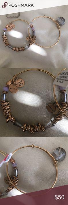 2 Alex and Ani bracelets Beautiful and rare Alex and Ani bracelet set wear one or both together. Alex & Ani Jewelry Bracelets