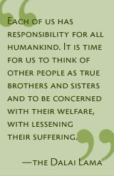 Each of us has a responsibility: