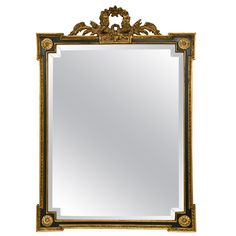 French Directoire Style Mirror by Jansen   From a unique collection of antique and modern wall mirrors at http://www.1stdibs.com/furniture/mirrors/wall-mirrors/