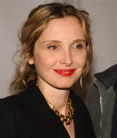 Julie Delpy, Born in Paris, Dec. She acts, writes, directs and sings. A strong voice of independent film! Red Lip Makeup, Hair Makeup, Julie Delpy, French Beauty, French Actress, Celebs, Celebrities, Best Actor, Woman Crush