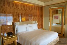 Club Room mit Kingsize Bett - Check more at https://www.miles-around.de/hotel-reviews/hotel-bewertung-ritz-carlton-millenia-singapore/,  #Hotel #HotelBewertung #Luxus #Reisebericht #Ritz-Carlton #Singapur