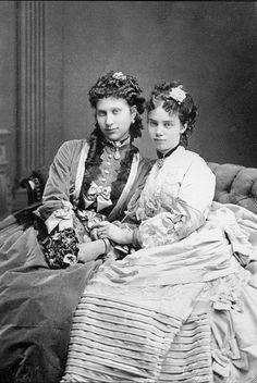 Lovisa of Sweden and Princess Thyra(?)