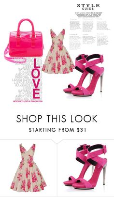 """""""Untitled #161"""" by dizdarevicnermina ❤ liked on Polyvore featuring Posh Girl and Furla"""