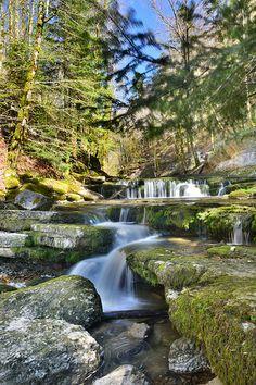 Les cascades du Hérisson, l'un des plus grands sites naturels de Franche-Comté !   Jura France   #JuraTourisme