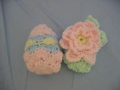 Ravelry: Inside Out Egg into a Flower pattern by Donna Collinsworth..free pattern!