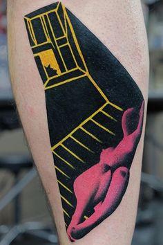 Aleksy Marcinow tattoo