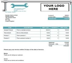 15 Best Free Plumbing Invoice Templates Images Free Stencils