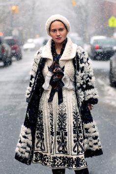olya thompson looks like she fell out of snowy heaven