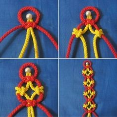 How to tie pretty knots: