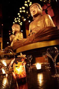 Buddha-Bar Hotel Budapest Klotild Palace's unique bar: the Klotild Bar & Lounge  #buddha #bar #budapest #restaurant