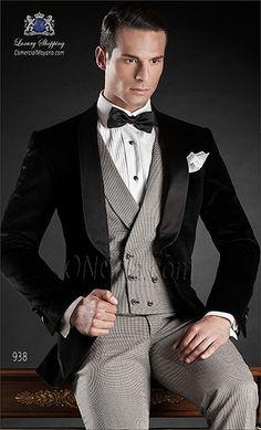 Traje de novio negro 938 ONGala Wedding suit