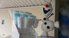 Cuidado senão o Olaf vai comer todo o algodão doce ⛄⛄❄