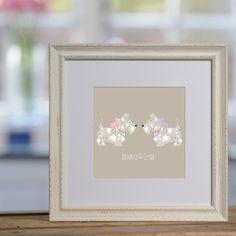 Scottie Dogs personalised print £48