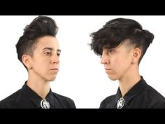 9 Androgynous Hairstyles In 60 Seconds (feat. Madison from District Salon) - YouTube