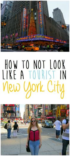 How to not look like a tourist in New York City #nyc