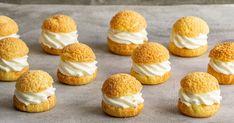 Eclairs, Beignets, Pavlova, Mini Cupcakes, Macarons, Sweet Recipes, Biscuits, Cheesecake, Muffin