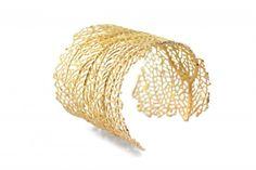 Gold Kai Cuff - KiraKira by Suz Somersall ($468)