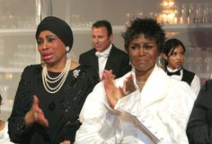 The Legends Ball 2006 |Leontyne Price and Cicely Tyson applaud the young'uns' presentation.