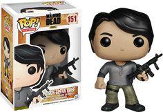 Pop! Vinyl #151 The Walking Dead - Prison Glenn.  There is a new Glenn?  I've…