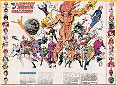 DC comics' Legion of Super-Villains Comic Villains, Superhero Villains, Dc Comics Characters, Old Comics, Dc Comics Art, Marvel Dc Comics, Gi Joe, Comic Books Art, Comic Art