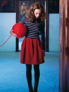 Burda Style: Damen - Röcke - Ausgestellte Röcke - Rock - Quetschfalten