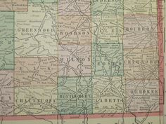 Detailed Map Of Kansas With Insets Of By Catchingcanaries - Detailed map of kansas