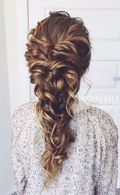 ~This style would work perfectly with my long hair and curls~